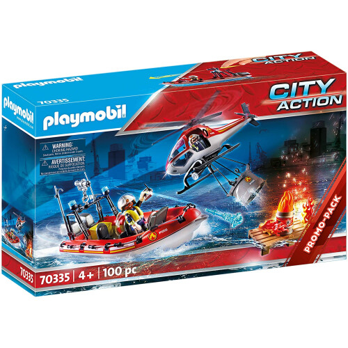 Playmobil 70335 City Action Fire Rescue Mission