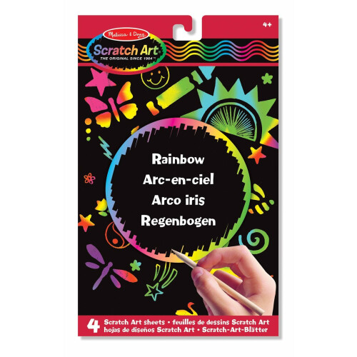 Melissa & Doug Scratch Art Rainbow