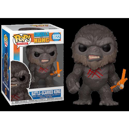 Funko Pop Vinyl - Godzilla vs Kong - Battle-Scarred Kong 1022