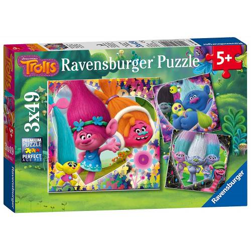 Ravensburger 3 x 49pc Puzzles Trolls
