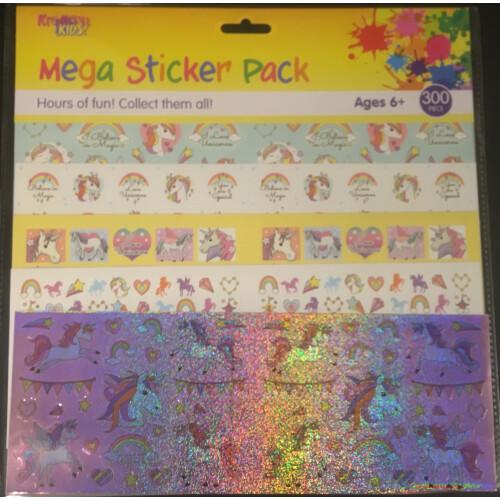 Mega Sticker Pack - Unicorns
