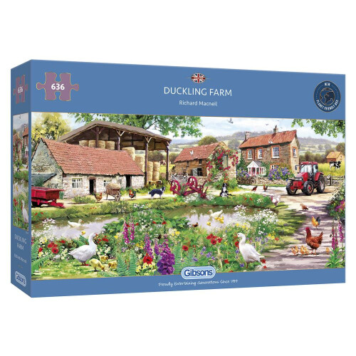 Gibsons Duckling Farm 636pc Puzzle