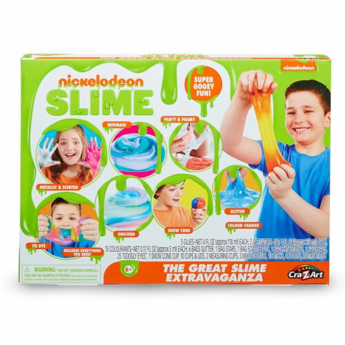 Nickelodeon Slime The Great Slime Extravaganza