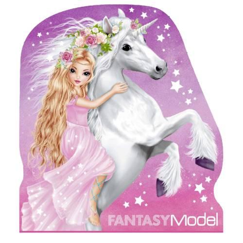 Depesche Fantasy Model Notepad - White Unicorn