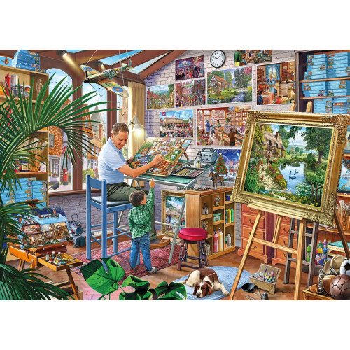 Gibsons A Work Of Art 1000pc
