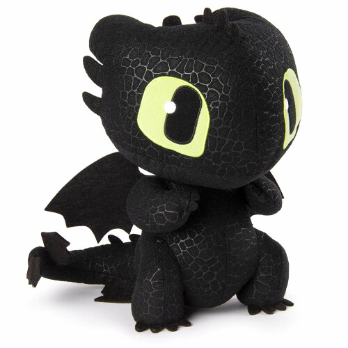 Dragons Squeeze & Growl Toothless 10-Inch Plush with Sounds