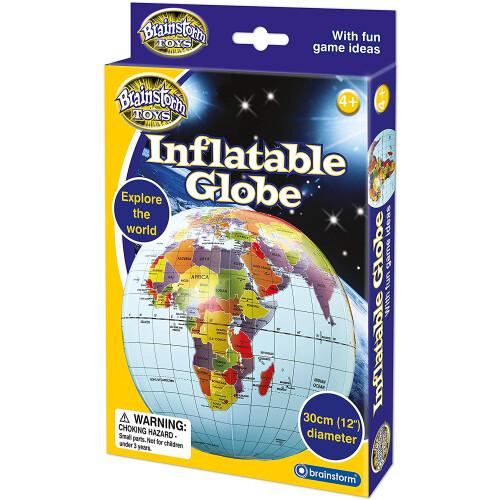 Brainstorm Inflatable Globe