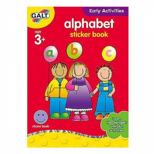 Galt Alphabet Sticker Book