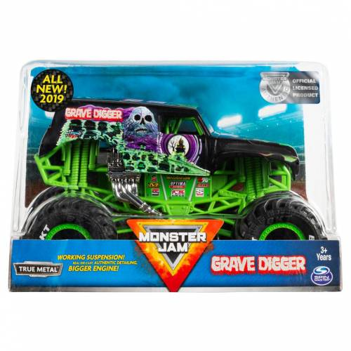 Monster Jam - 1:24 Scale - Grave Digger