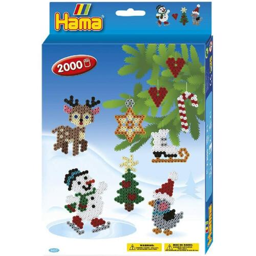 Hama Beads 3437 Christmas Gift Box