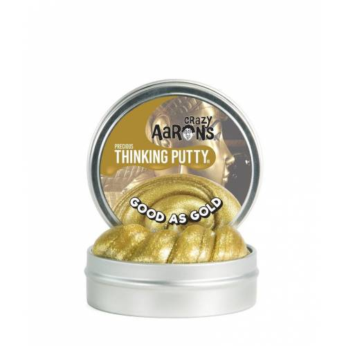 Crazy Aarons Thinking Putty Precious - Good as Gold