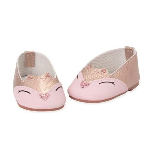 Our Generation Shoes Pink Kitty