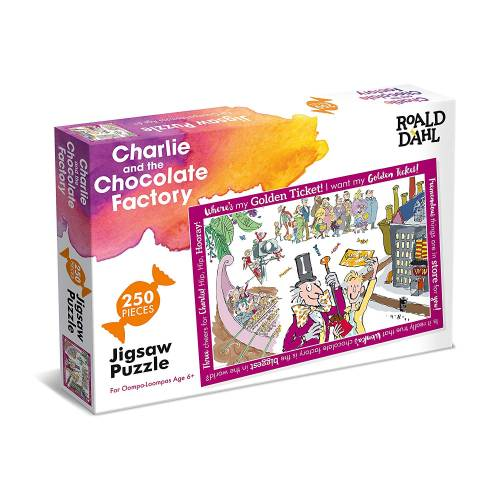Roald Dahl - Charlie and the Chocolate Factory 250pc Puzzle