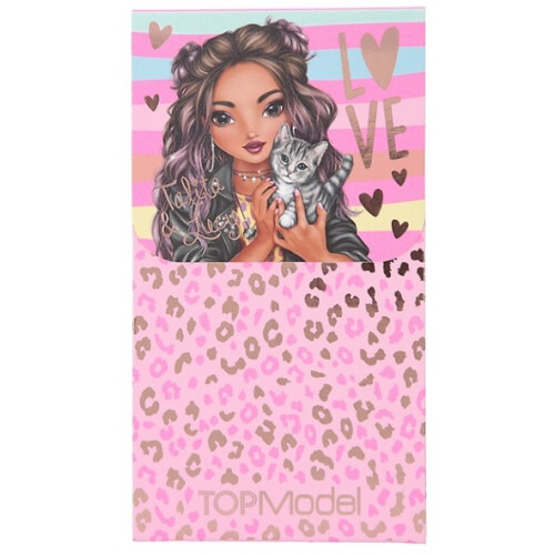 Depesche Top Model Notepad with Magnet Seal - Talita