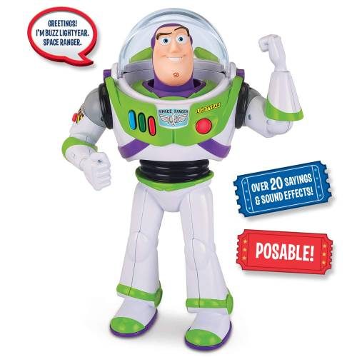 Toy Story 4 Talking Action Figure - Buzz Lightyear