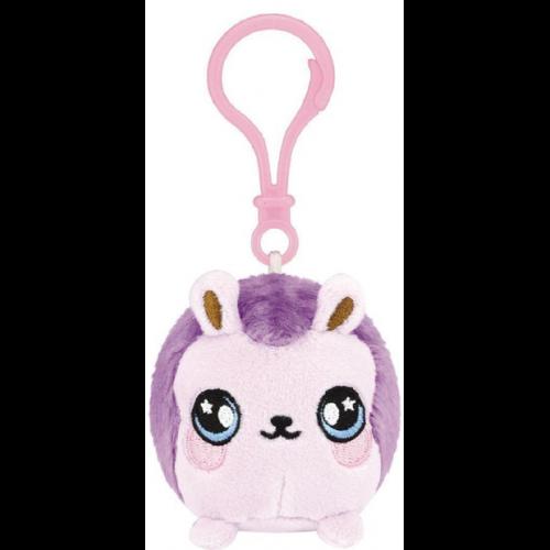 Squeezamals Series 2 Clip on Plush - Purple Hedgehog