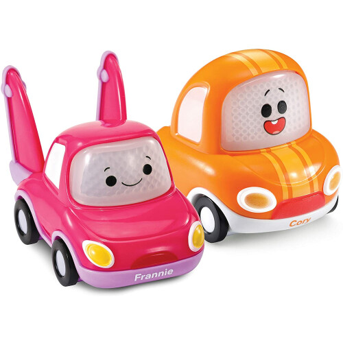 Vtech Toot-Toot Cory Carson 2 Mini Vehicle Pack - Cory & Frannie