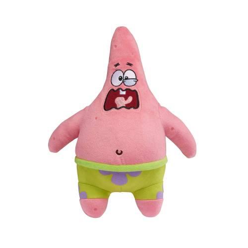 SpongeBob SquarePants 11 Inch Exsqueeze Me Plush - Burping Patrick