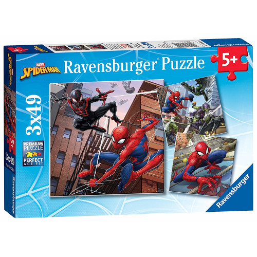 Ravensburger 3 x 49pc Puzzles Spiderman