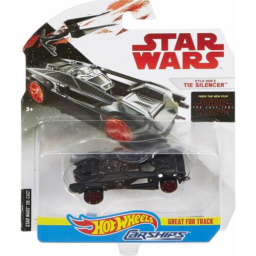 Hot Wheels Star Wars Kylo Ren's Tie Silencer