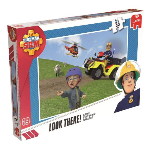 Jumbo 35pc Puzzles Fireman Sam Look There!