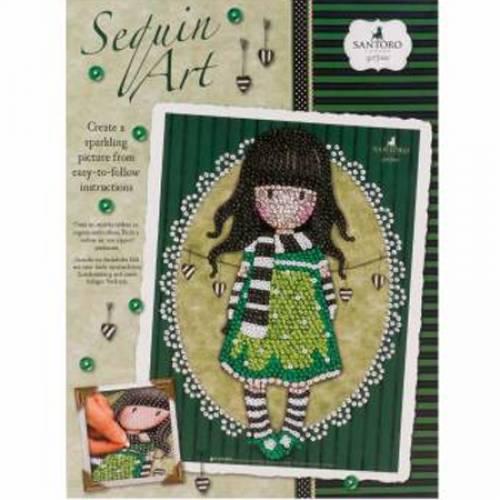 Sequin Art Limited. Sequin Art Gorjuss The Scarf 1714
