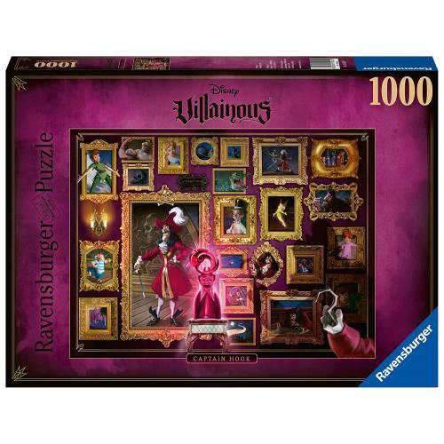 Ravensburger Disney Villainous 1000pc Puzzle - Captain Hook