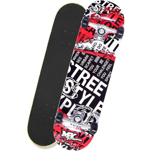 "M.Y X-Skate 31"" Double Tilt End Skateboard - Streets"