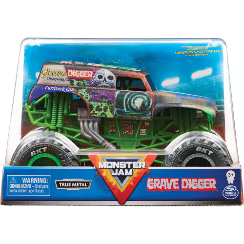 Monster Jam 1:24 - Grave Digger (Rusted Matte)