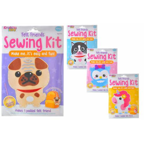 Kreative Kids - Felt Friends Sewing Kit - Assorted
