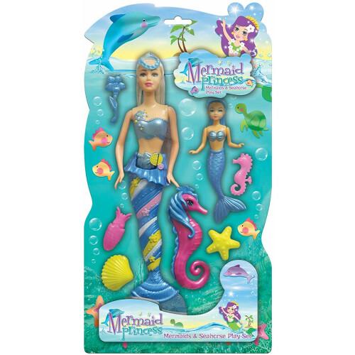 Mermaid Princess Playset - Blue