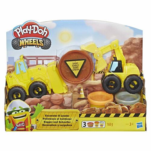Play-Doh Wheels Excavator & Loader
