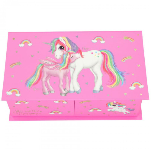 Depesche Ylvi & the Minimoomis Jewellery Box - Unicorn