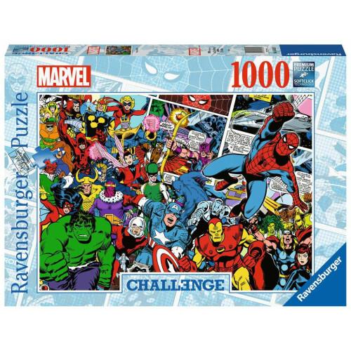 Ravensburger Challenge 1000pc Puzzle Marvel