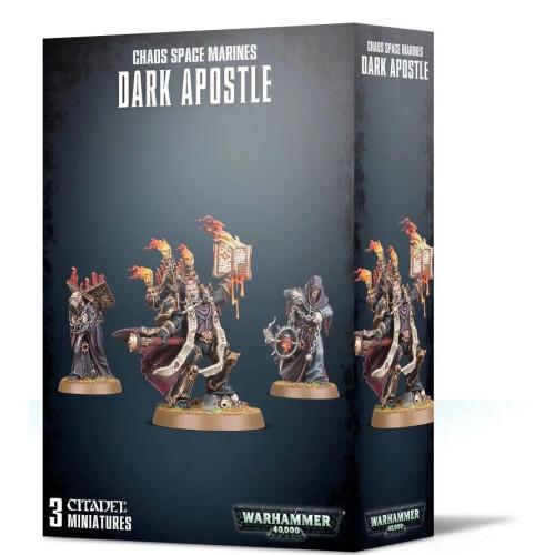 Warhammer 40,000 - Chaos Space Marines Dark Apostle