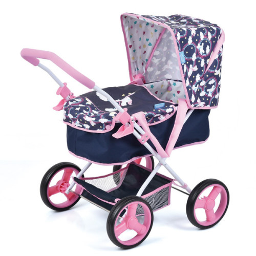 Baby Doll Gini Pram - Unicorn
