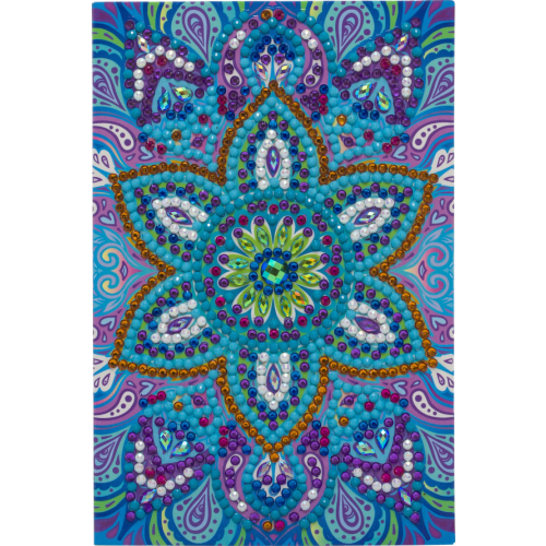Crystal Art Card Kit - Blue Mandala