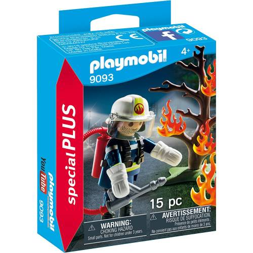 Playmobil 9093 Firefighter with Tree