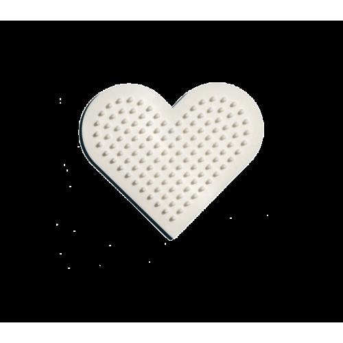 Hama Beads Single Pegboard 236 Small Heart