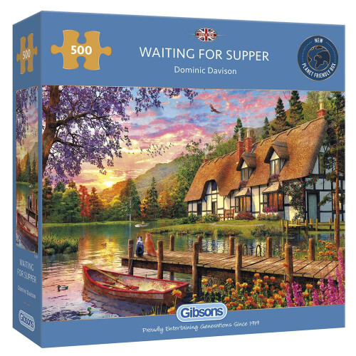 Gibsons Waiting for Supper 500pc Puzzle