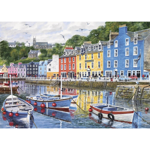 Gibsons Tobermory 1000pc Puzzle