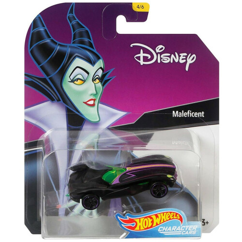 Hot Wheels Disney Character Cars Series 1 - Maleficent