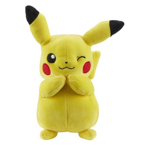 Pokemon 8 Inch Plush - Pikachu (Winking)