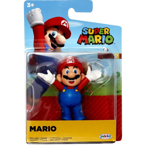 Super Mario 2.5 Inch Figures - Mario (Arms Open)
