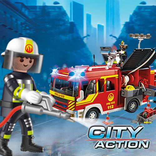 City Action Fire