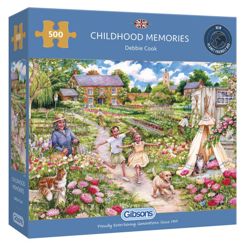 Gibsons Childhood Memories 500pc Puzzle
