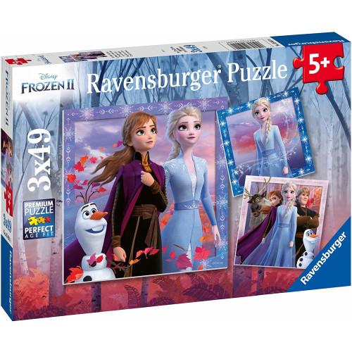 Ravensburger 3 x 49pc Puzzles Frozen 2