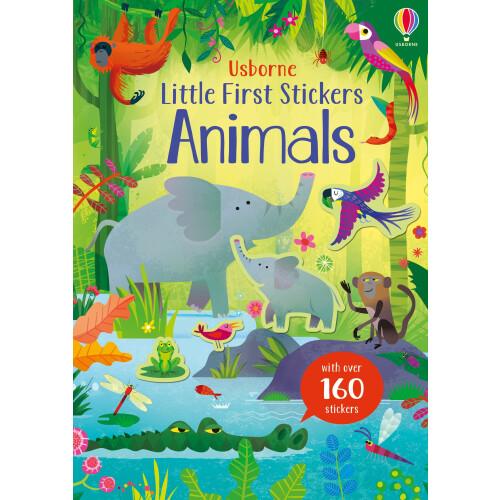 Usborne Books - Little First Stickers Animals