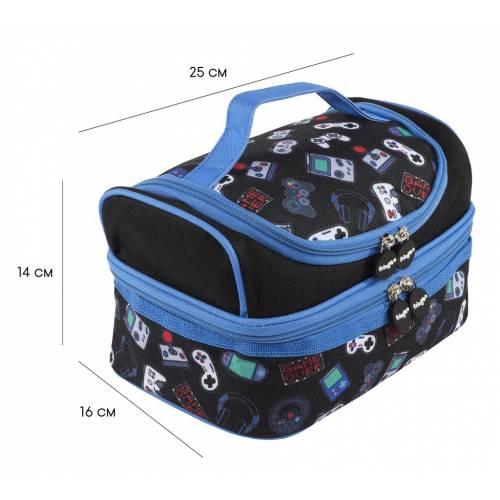 2 Part Lunch Bag - Gamer