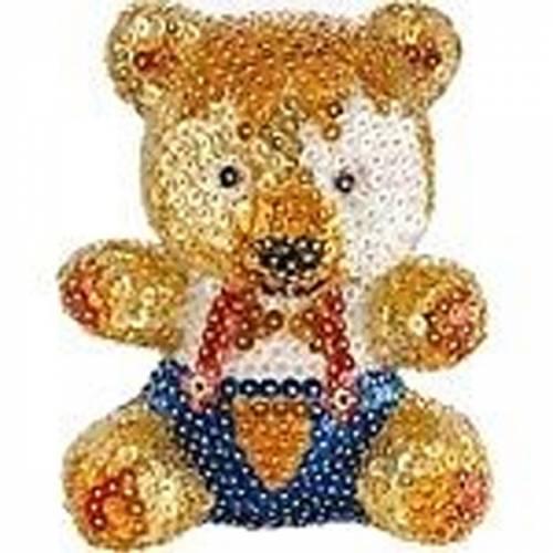 Sequin Art Ltd. Sequin Art 3D Teddy 0502